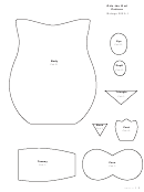 Cut-out Owl Template