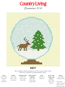 Christmas Cross Stitch Graph Paper