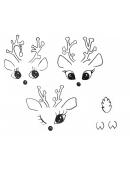 Cute Reindeer Template