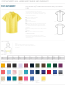 Port Authority Ladies Short Sleeve Easy Care Shirt Size Chart