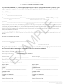 Notary Acknowledgement Form 2015 Example