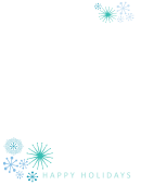 Christmas Letter Writing Template