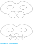 Rabbit Mask Template