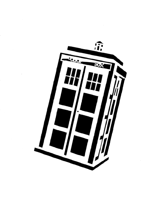 15 cake templates free to download in pdf for Tardis template for cake