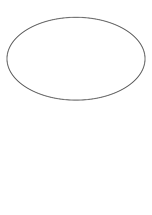 Oval Template | Oval Template Printable Pdf Download