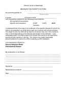 homestead letter, annulment letter, concession letter, objection letter, claim letter, deferral letter, mandate letter, on vaccination exemption letter template
