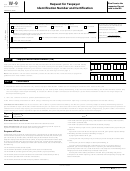 Form W-9 - Request For Taxpayer Identification Number And Certification - 2015