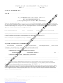 Ohio Probate Form: Application For The Guardianship Of A Minor - Russian