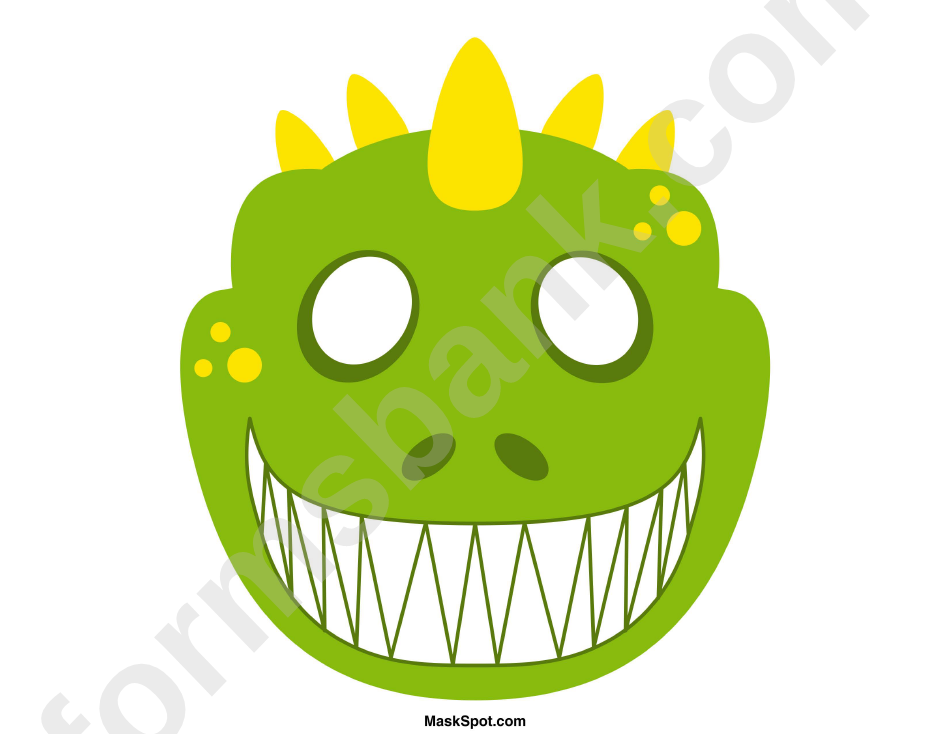 It is a picture of Satisfactory Printable Dinosaur Masks