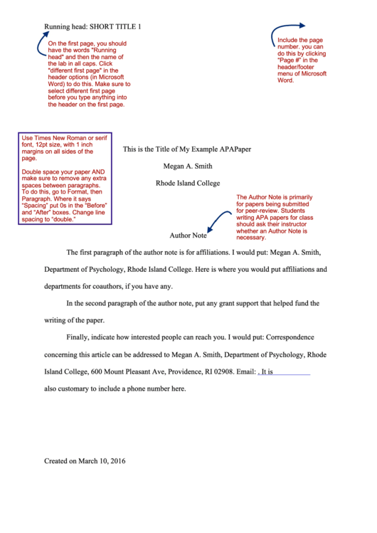 apa paper format with instructions printable pdf download
