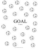 Music Practice Chart - Football