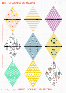 Triangle Flag Template