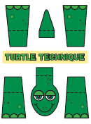 Green Turtle Template