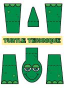 Green Turtle Template