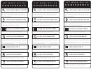 Conference Bible Bookmark Template