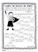 Spanish Reading Chart