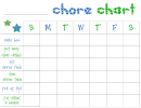 Chore Chart For Young Kids