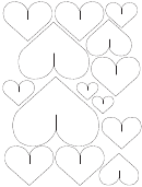 Heart Cut-out Templates