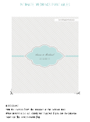 Wedding Candy Bar Wrapper Template