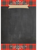 Diy Chalkboard Christmas Flyer Template