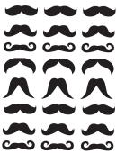 Small Mustache Templates