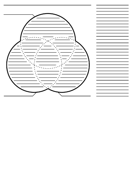 3 Circle Venn Diagram Template Printable Pdf Download