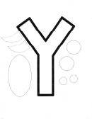 Y Letter Of The Week Preschool Craft