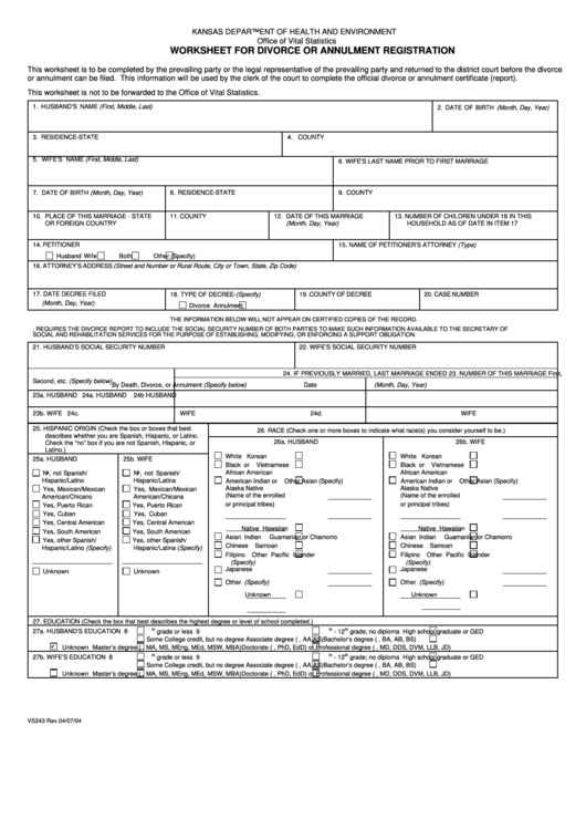 Top Kansas Divorce Forms And Templates Free To Download In Pdf Format