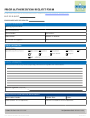 Prior Authorization Request Form - Alliant Health Plans