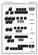 Place Value Blocks Worksheets