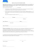 Medical Evaluation Form