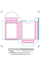 Playing Card Box Template
