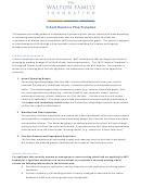School Business Plan Template