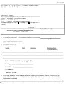 Request For Confidential Mediation Regarding Visitation