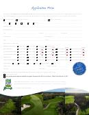 Application Form - Brunello Estates