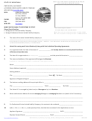 Certificate Of Authority Of Foreign Series Limited Liability Company Form - Secretary Of State - 2013