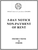 5 Day Notice Form