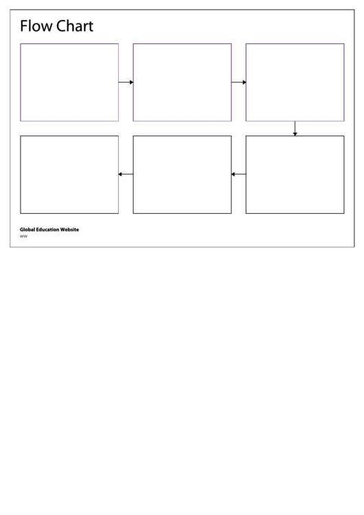 Blank flow chart template printable pdf download blank flow chart template maxwellsz