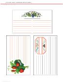 Clip-art Craft: Keepsake Recipe Cards