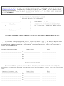 Consent To Exercise Of Jurisdiction By United States Magistrate Judge Form