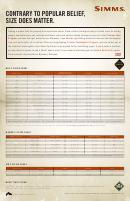 Simms Wader Size Chart