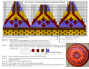 Fair Isle Hat Knitting Pattern Template