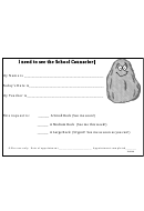 School Counselor Appointment Form