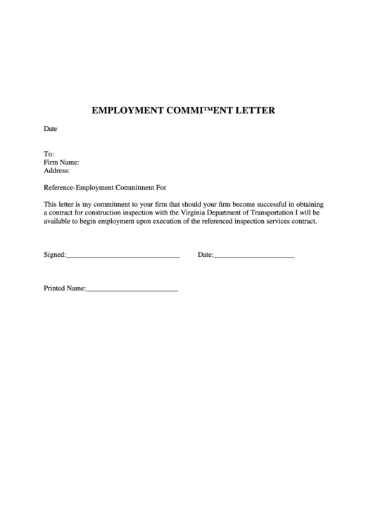 8 letter commitment free to download in pdf word and excel letter commitment templates forms spiritdancerdesigns Image collections
