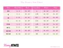 Sky Hosiery Size Chart