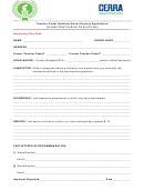 Teacher Cadet National Honor Society Application - Teacher Cadets
