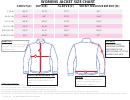 Home Depot Womens Jacket Size Chart