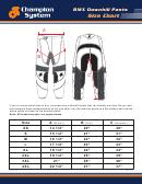 Champion System Bmx Downhill Pants Size Chart