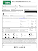 Master Rental Agreement Profile Update Form - National Emerald Club