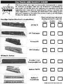 Usa Trains New Product Survey